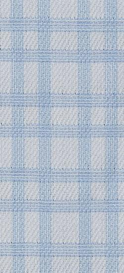 Blue Double Graph Check Custom Shirt