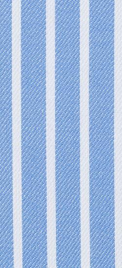 Blue Pencil Striped Custom Shirt