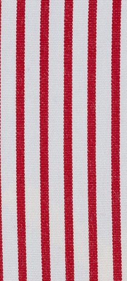 White Red Striped Custom Shirt