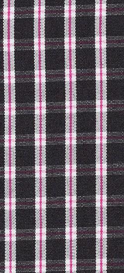 Premium Black Mini-Check Custom Shirt