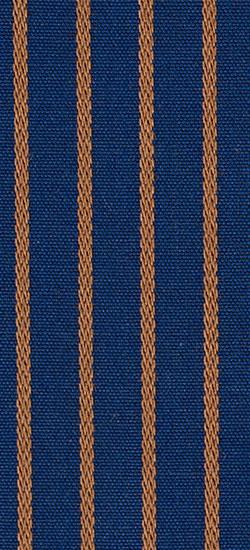 Navy Tan Pencil Stripe Custom Shirt