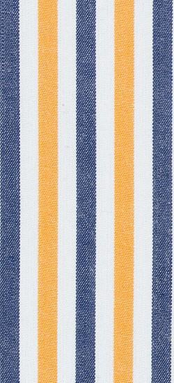 Blue Yellow Candy Stripe Custom Shirt