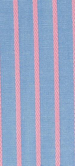 Blue & Pink Pencil Stripe Custom Shirt