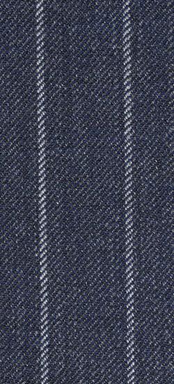 The Ashton - Charcoal Grey Striped 2 Piece Custom Suit
