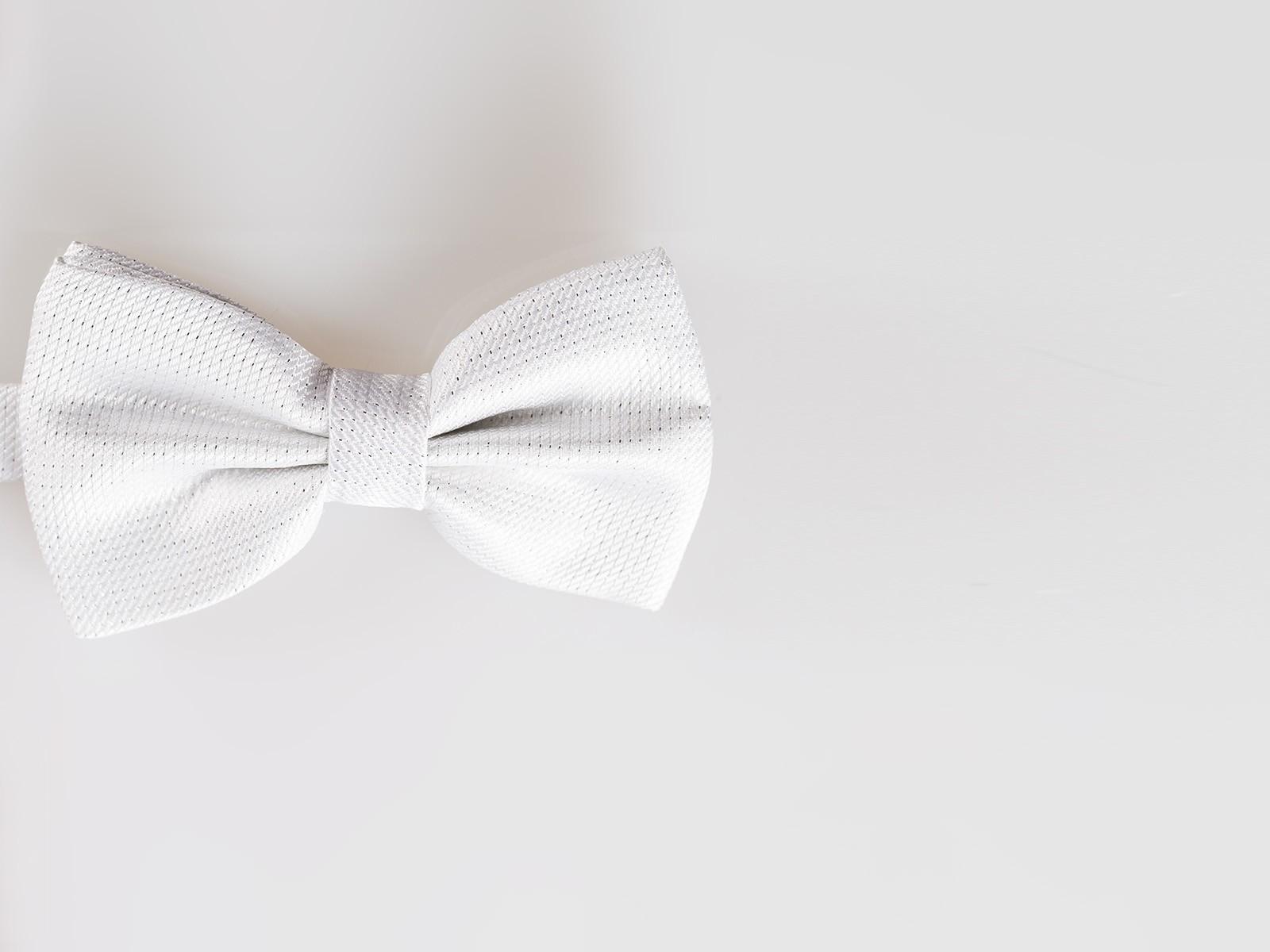 White Bowtie