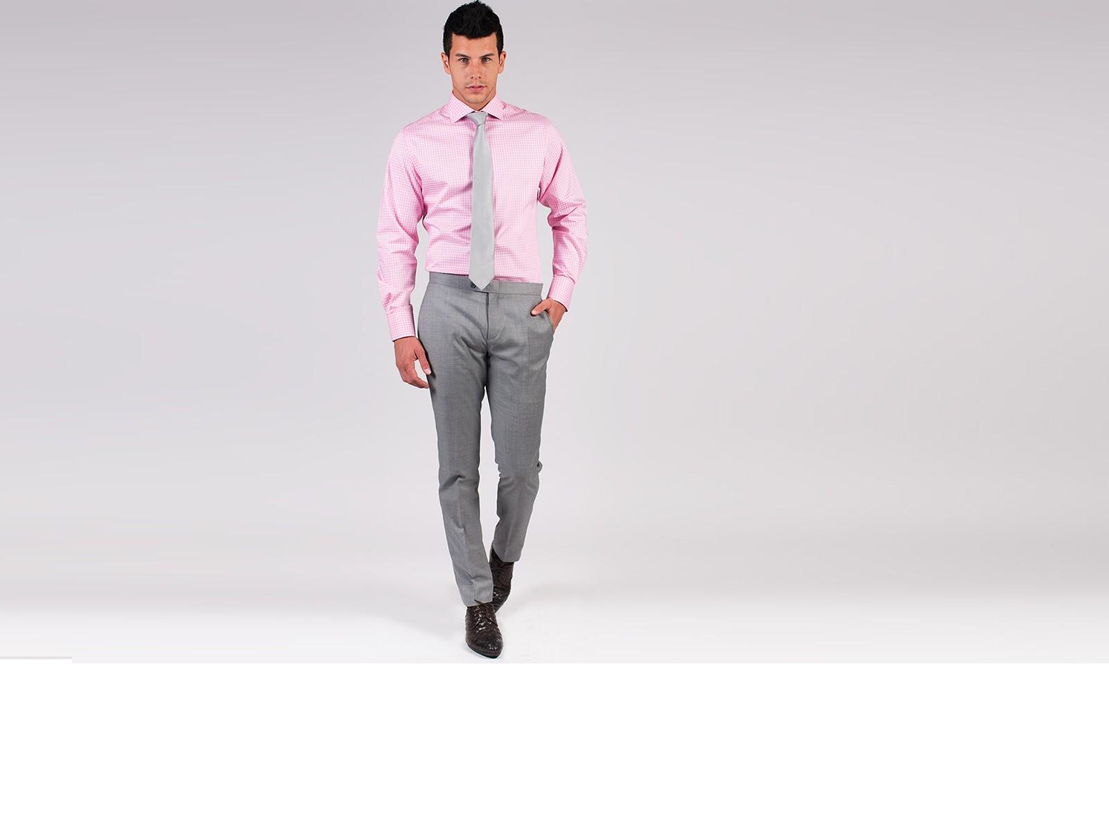 Classic Light Grey Pants