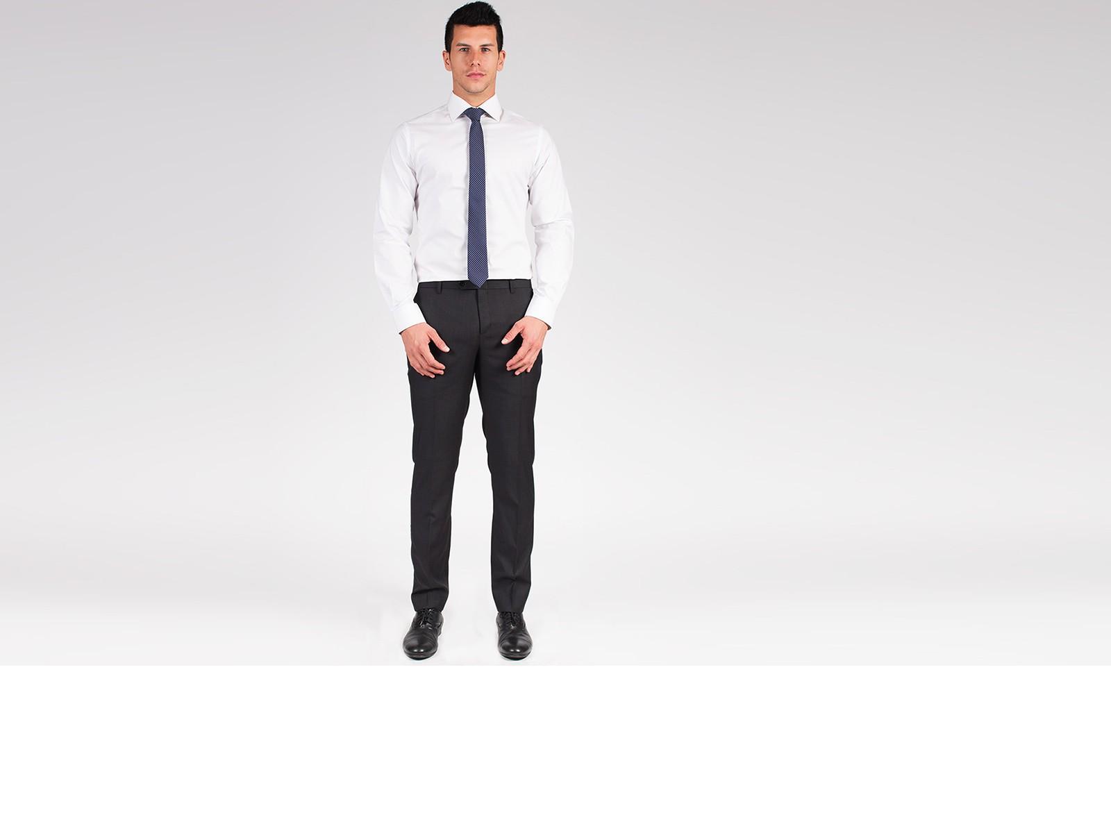 Premium White Twill Custom  Shirt