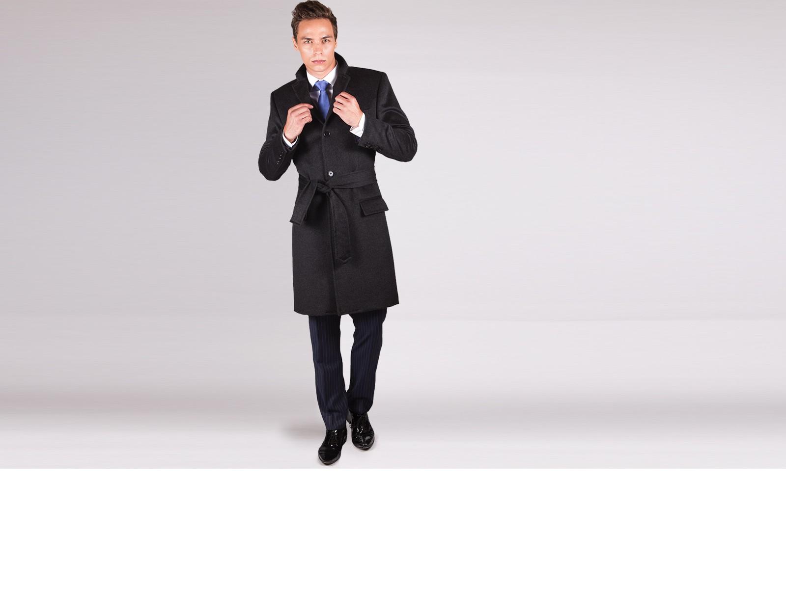 Classic Grey Overcoat