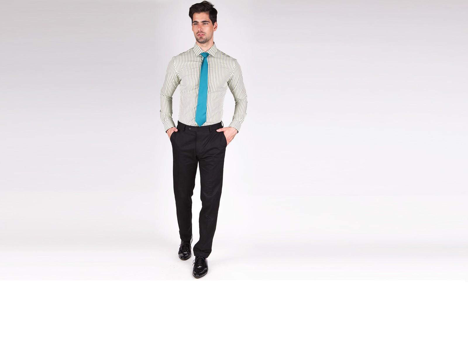 Premium Green Candy Stripe Custom Shirt