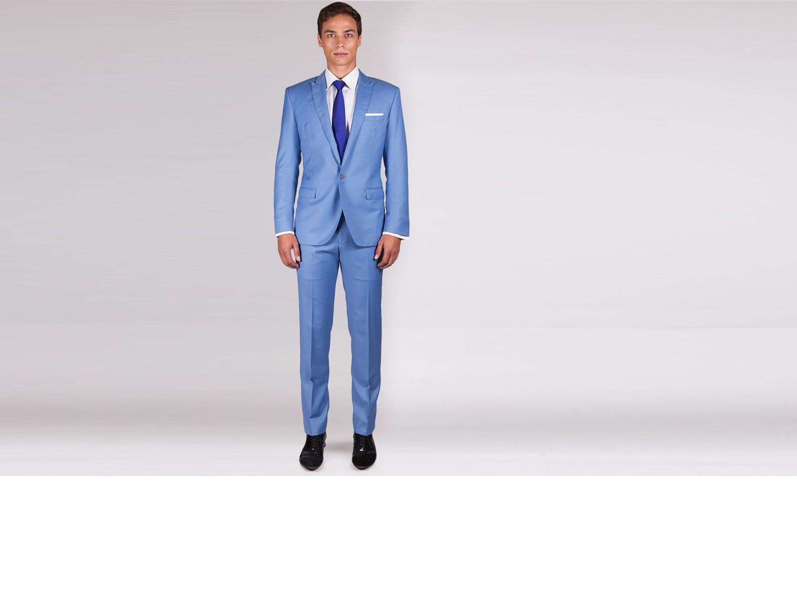 The Dandy - Sky Blue Suit 2 Piece Custom Suit