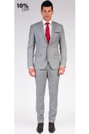 The Cashmore - Classic Grey 2 Piece Custom Suit