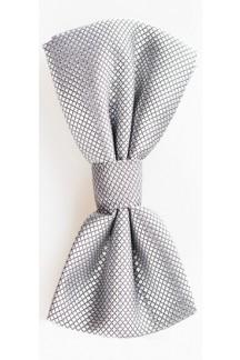 Silver/Grey Bowtie