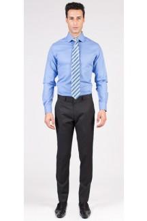 Basic Italian Blue Custom Shirt
