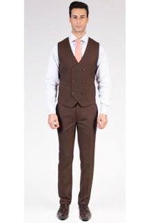 Classic Brown Vest