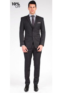 The Brody - Charcoal Grey 2 Piece Custom Suit