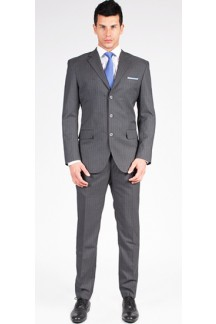 The Farrell Striped 2 Piece Custom Suit