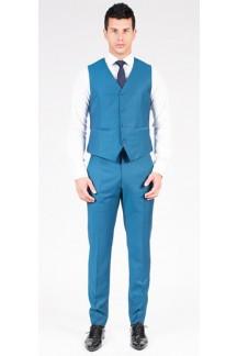 Classic Teal Blue Vest