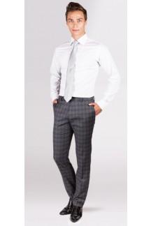 Grey Glen Plaid Pants