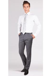 White Twill Cotton Custom Shirt