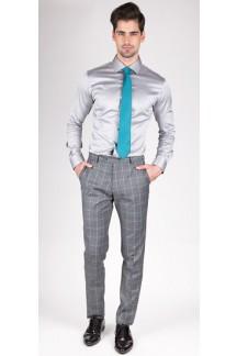Premium Silver Grey Custom Shirt
