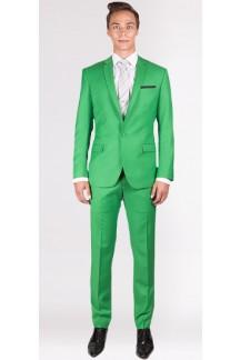 The Elton - Lime Green 2 Piece Custom Suit