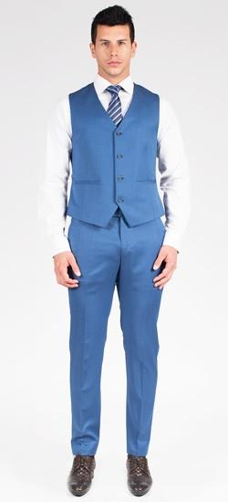 Classic Steel Blue Vest