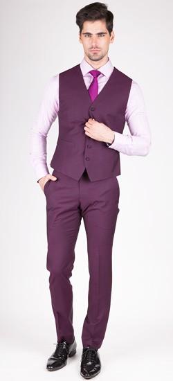 Luxurious Purple Vest
