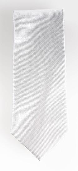 White/Grey Tie