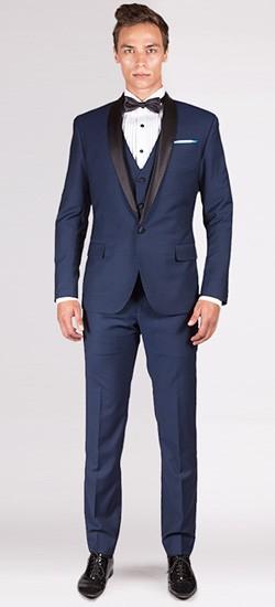 The Avenger - Midnight Blue 3 Piece Custom Tuxedo